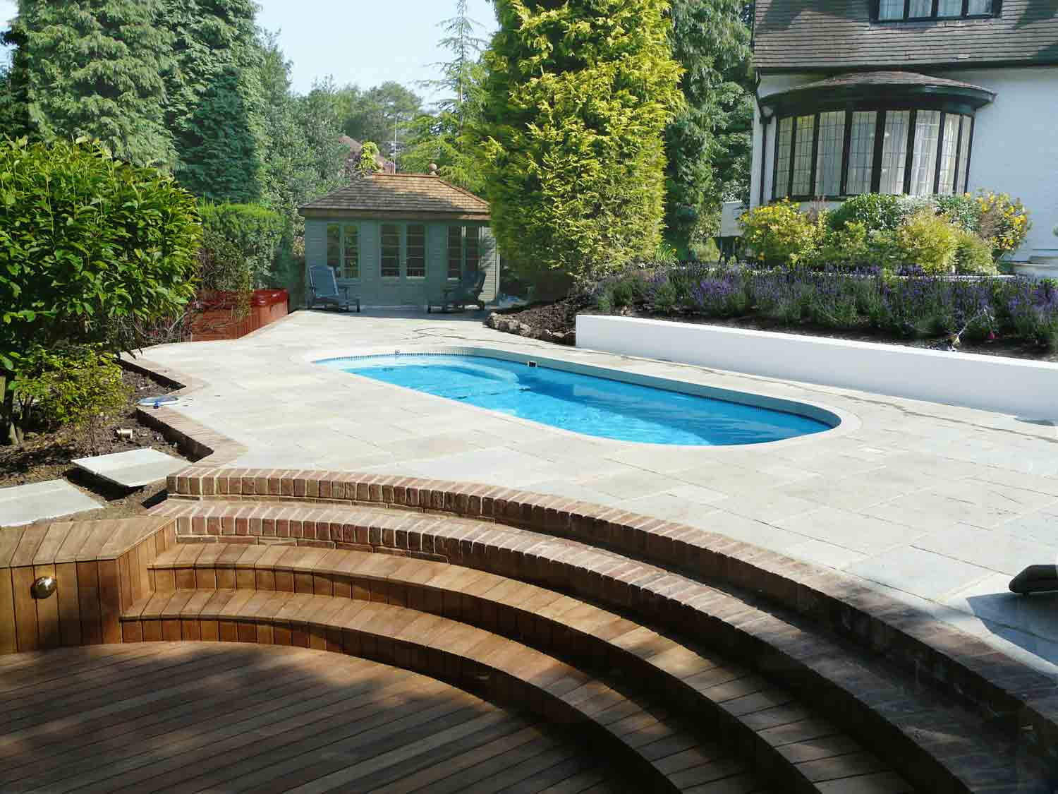 Paving and decking in Fleet