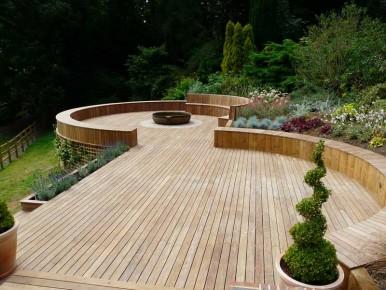 Timber decking Godalming