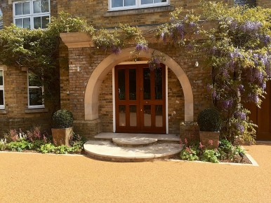 Resin Driveway Virginia Water