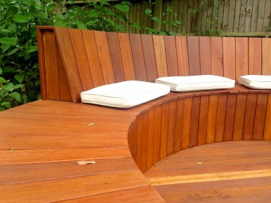 Timber decking design build