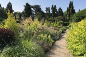 Late summer planting in the Exbury Centenary Garden built by PC Landscapes