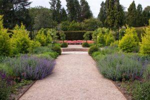 The Exbury Centenary Garden after installation