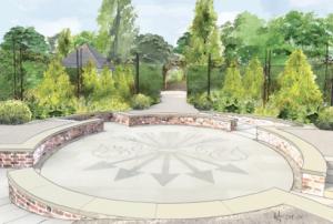 Exbury Centenary Garden rendering
