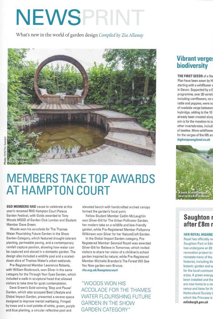 SGD Garden Design Journal