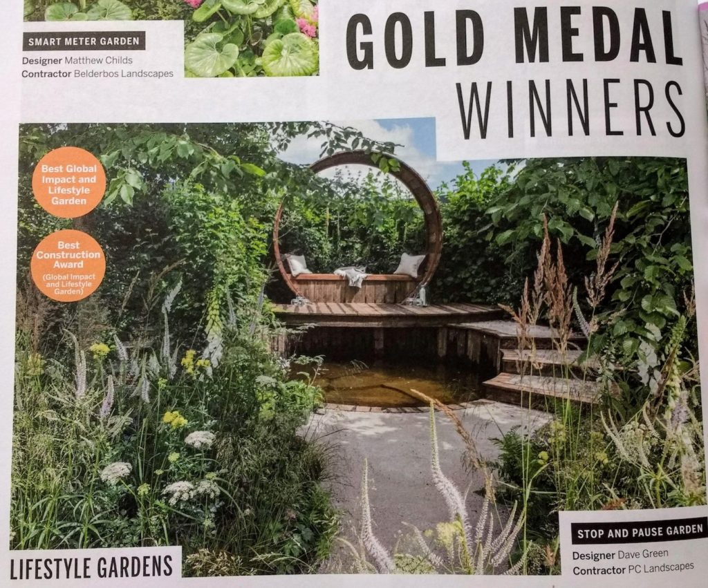Gold Medal Winner Garden, Hampton Court, Dave Green, PC Landscape